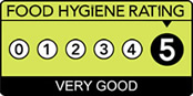 Food Hygiene Rating 5 logo