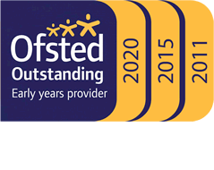 Ofsted Outstanding Childcare 2020, 2015, 2011